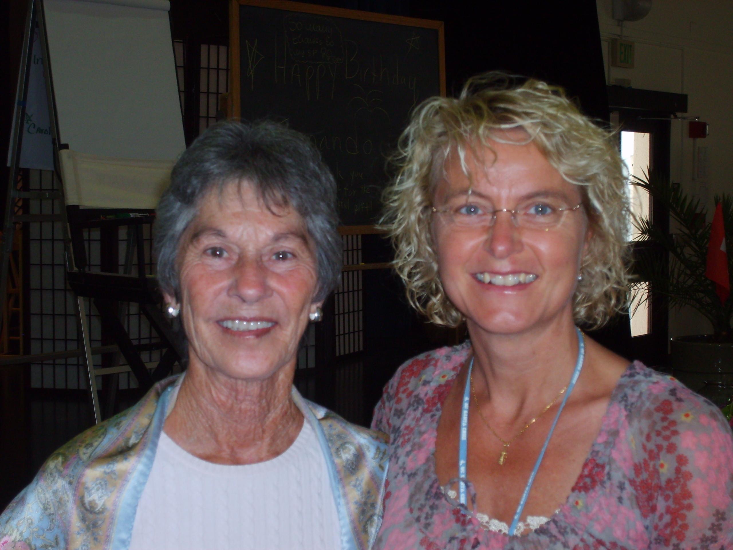 Judith DeLozier & Inge, NLPU Santa Cruz