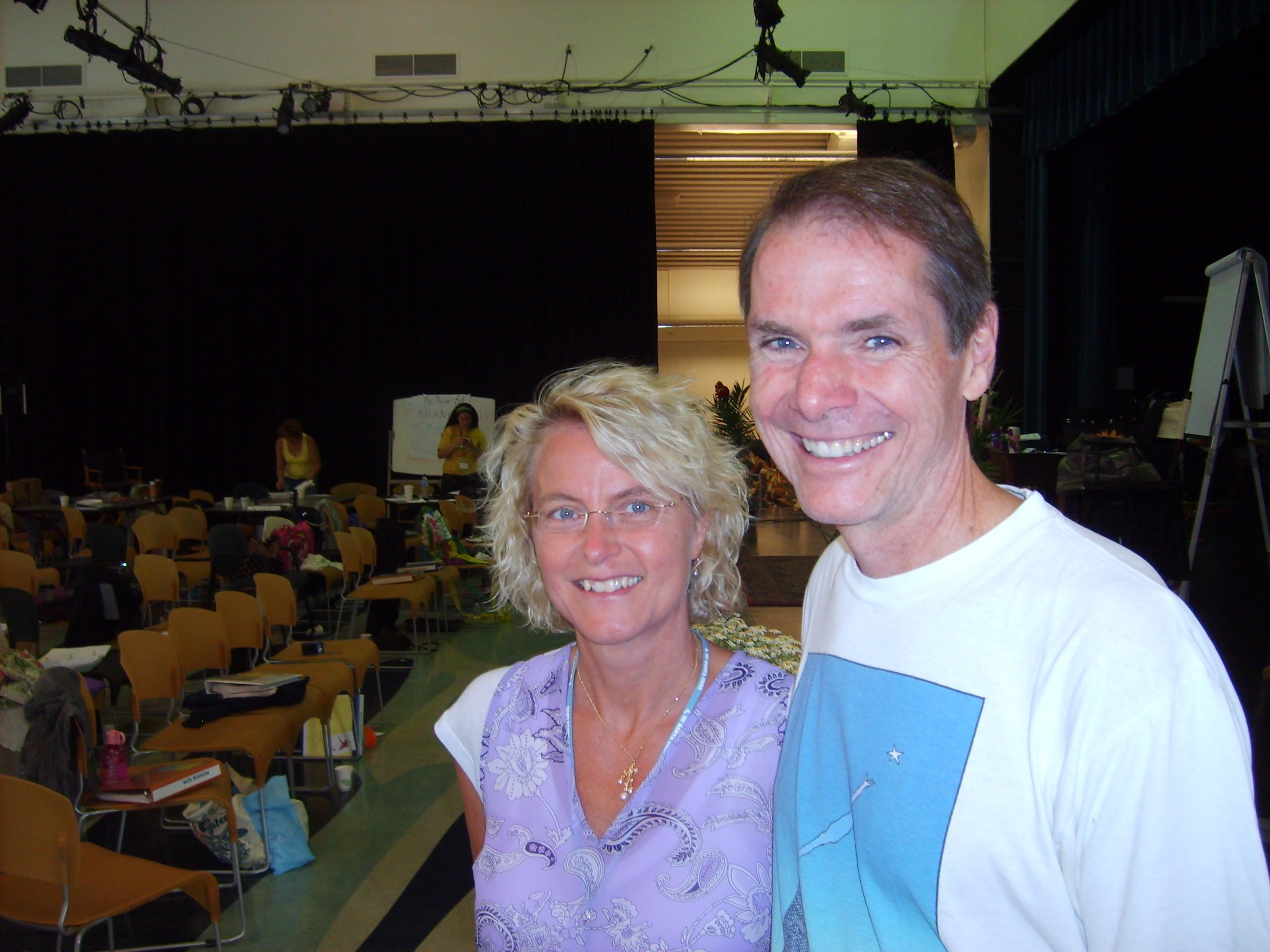 Robert Dilts & Inge, NLPU Santa Cruz